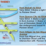 how to get there in axis residences